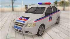 Chevrolet Aveo Polizei DND
