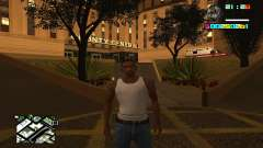 New HUD by Ptaxa1999 pour GTA San Andreas