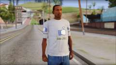The Likersable T-Shirt pour GTA San Andreas