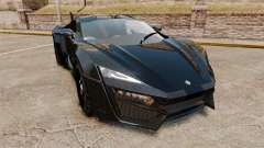 Lykan HyperSport Black für GTA 4