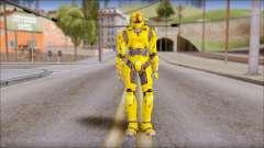 Masterchief Yellow from Halo