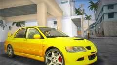 Mitsubishi Lancer Evolution 8 2004 pour GTA Vice City