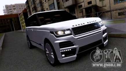 Land Rover Range Rover Startech pour GTA San Andreas