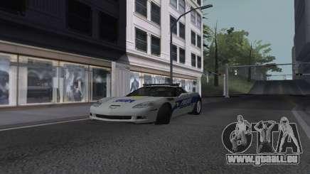 Chevrolet Corvette Z06 Police für GTA San Andreas