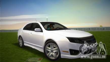 Ford Fusion 2009 pour GTA Vice City