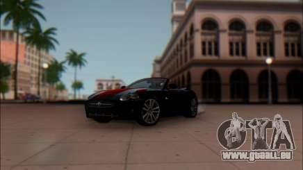 Jaguar XK 2007 pour GTA San Andreas