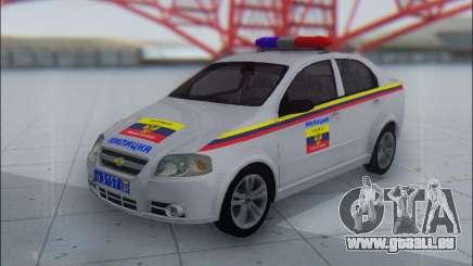 Chevrolet Aveo Милиция OHP für GTA San Andreas
