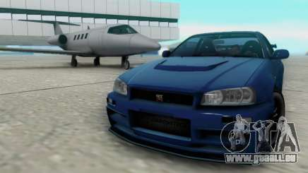 Nissan Skyline R34 Fast and Furious 4 für GTA San Andreas