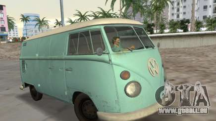 Volkswagen Type 2 T1 Van 1967 für GTA Vice City