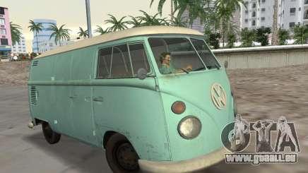 Volkswagen Type 2 T1 Van 1967 pour GTA Vice City