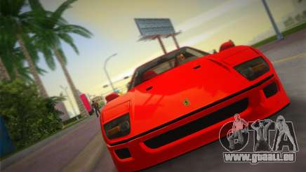 Ferrari F40 für GTA Vice City