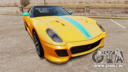 Ferrari 599 GTO PJ2 pour GTA 4