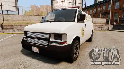 Vapid Speedo Los Santos County Sheriff [ELS] für GTA 4