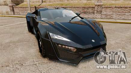 Lykan HyperSport Black pour GTA 4