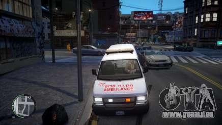 Israel MDA Ambulance für GTA 4