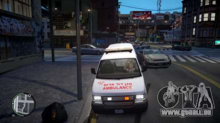 Israel MDA Ambulance pour GTA 4