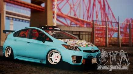 Toyota Prius Hybrid 2011 Helaflush pour GTA San Andreas