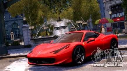 Ferrari 458 Italia 2010 pour GTA 4