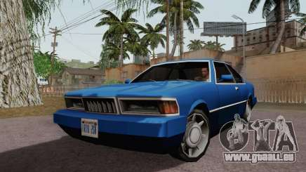 Sentinel Coupe pour GTA San Andreas