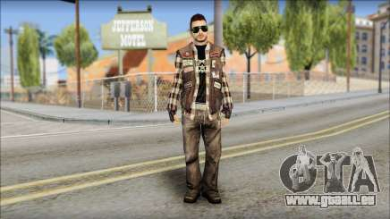 Biker from Avenged Sevenfold pour GTA San Andreas