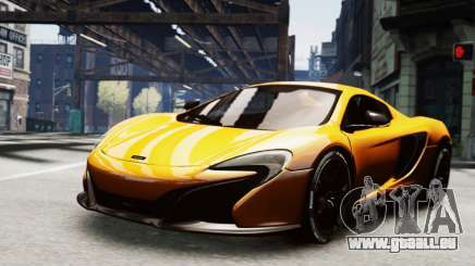 McLaren 650S Spider 2014 pour GTA 4