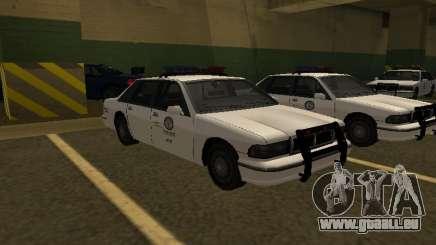 Police Original Cruiser v.4 für GTA San Andreas