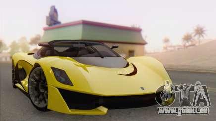 GTA V Turismo R für GTA San Andreas