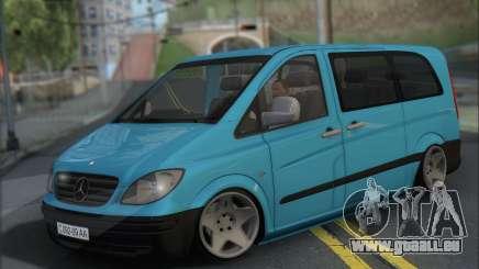 Mercedes-Benz 115 CDI Vito 2007 Stance pour GTA San Andreas