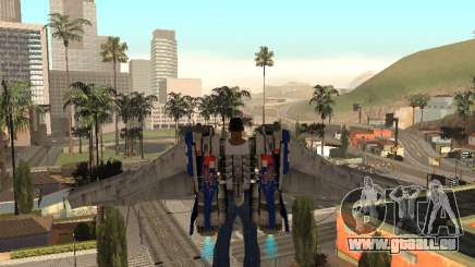 Optimus Jetpack für GTA San Andreas