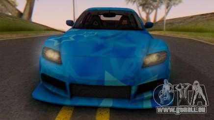 Mazda RX-8 VeilSide Blue Star pour GTA San Andreas