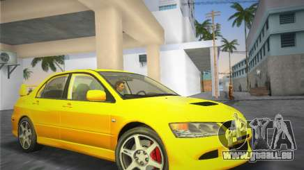 Mitsubishi Lancer Evolution 8 2004 für GTA Vice City