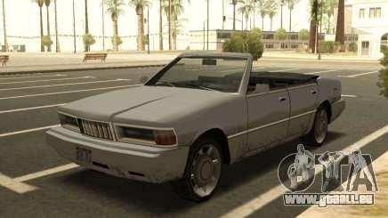 Sentinelle Convertible pour GTA San Andreas