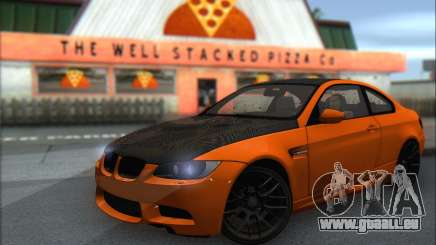 BMW M3 E92 Soft Tuning pour GTA San Andreas