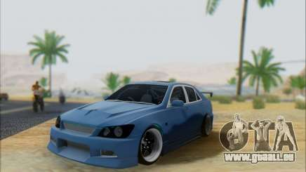 Toyota Allteza C-West pour GTA San Andreas