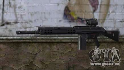 HK A4 SOG from Medal Of Honor: Warfighter pour GTA San Andreas