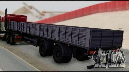Auflieger MAZ 93866 für GTA San Andreas