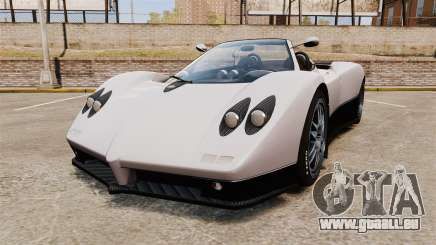 Pagani Zonda C12S Roadster 2001 v1.1 PJ2 pour GTA 4