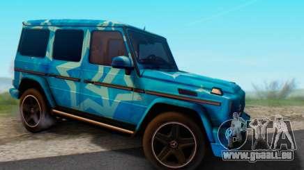 Mercedes-Benz G65 Blue Star für GTA San Andreas