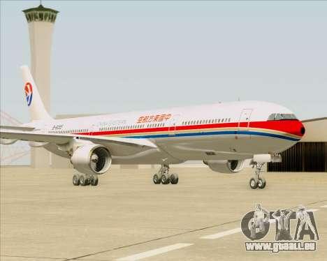 Airbus A330-300 China Eastern Airlines pour GTA San Andreas sur la vue arrière gauche