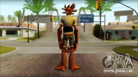 Guardians of the Galaxy Groot v1 pour GTA San Andreas deuxième écran