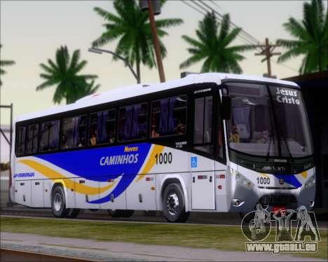 Marcopolo Ideale 770 - Volksbus 17-230 EOD pour GTA San Andreas laissé vue