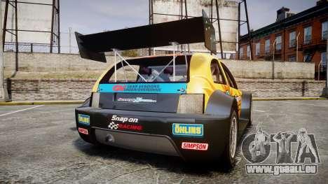 Zenden Cup Snap-On für GTA 4 hinten links Ansicht