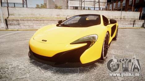 McLaren 650S Spider 2014 [EPM] Michelin v4 pour GTA 4