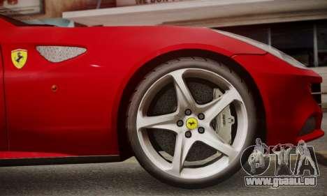 Ferrari FF 2012 pour GTA San Andreas vue arrière