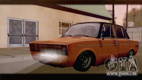 CES 2106 Hobo pour GTA San Andreas