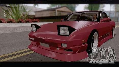 Nissan Silvia 240sx Ryan Tuerck für GTA San Andreas