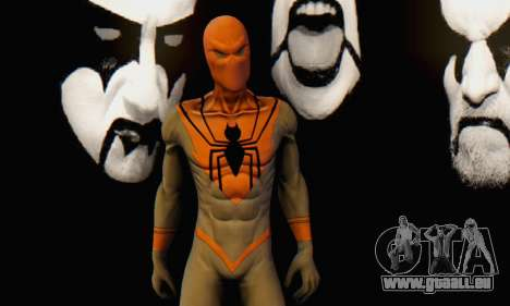 Skin The Amazing Spider Man 2 - Suit Assasin für GTA San Andreas sechsten Screenshot