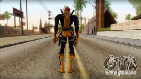 Xmen Deadpool The Game Cable pour GTA San Andreas deuxième écran