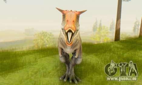 Carnotaurus für GTA San Andreas dritten Screenshot
