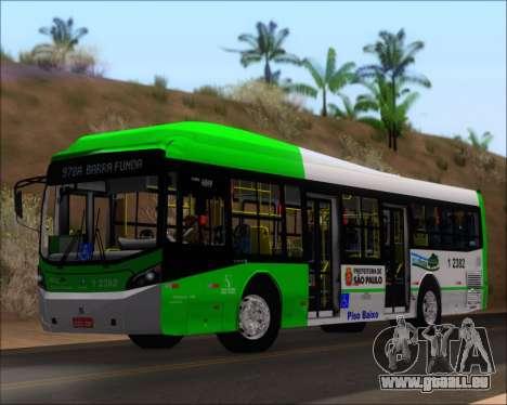Caio Induscar Millennium BRT Viacao Gato Preto für GTA San Andreas linke Ansicht